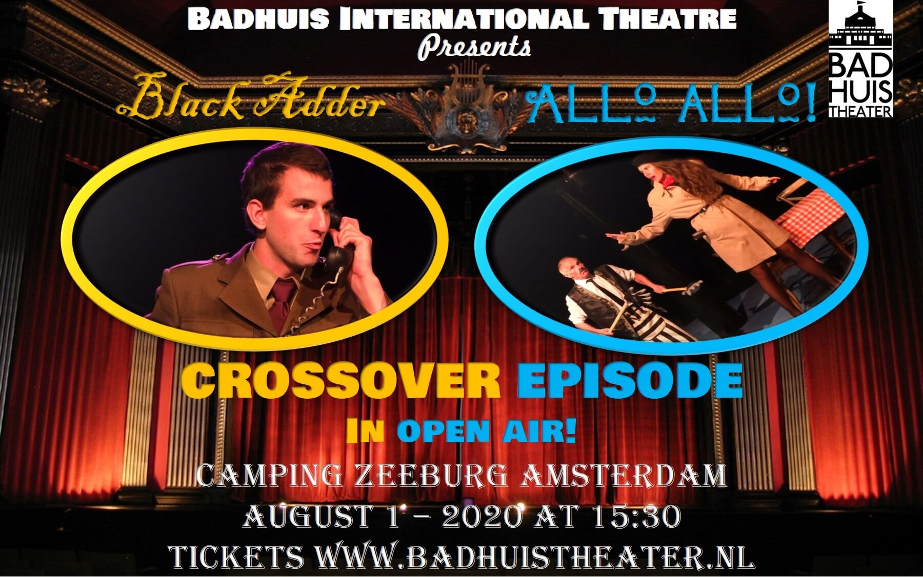 BlackAdder meets Circus ALLO